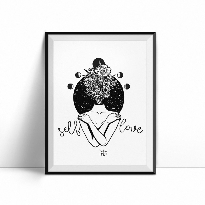 Self-love-hug-print
